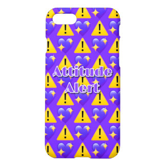 Cas mat de l'iPhone 7 vigilants d'attitude Coque iPhone 8/7