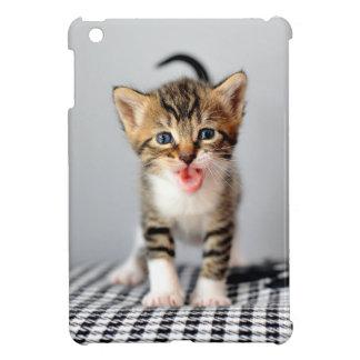 Cas Meowing d'iPad de chaton mini