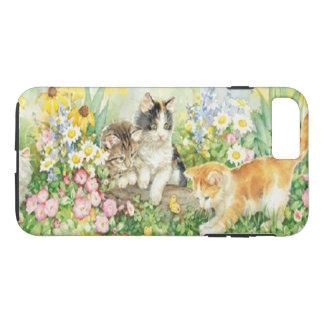 Cas mignon de l'iPhone 7 de chatons Coque iPhone 7 Plus