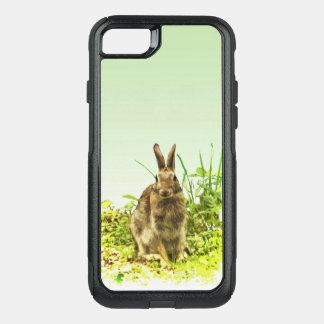 Cas mignon de l'iPhone 7 d'OtterBox de lapin de Coque OtterBox Commuter iPhone 8/7