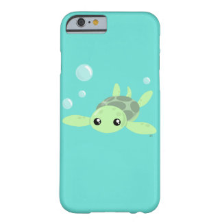 Cas mignon de Smartphone de tortue de mer Coque iPhone 6 Barely There