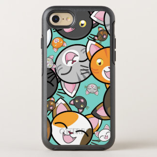 Cas mignon d'Otterbox de l'iPhone 7 de chats de Coque Otterbox Symmetry Pour iPhone 7