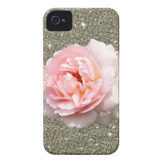 Cas mince de l'iPhone 4 floraux de luxe de Coque iPhone 4