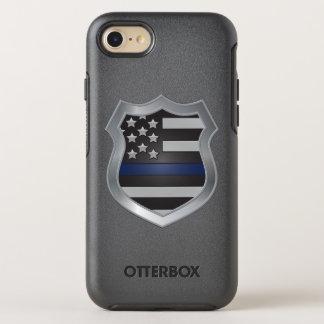 Cas mince de l'iPhone 7 de Blue Line Coque OtterBox Symmetry iPhone 8/7