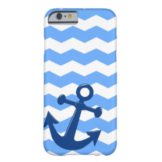 Cas nautique de Chevron Coque iPhone 6 Barely There
