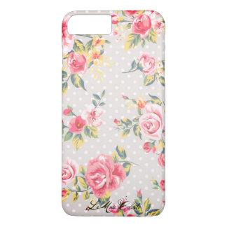 Cas parfaitement rose de téléphone coque iPhone 7 plus