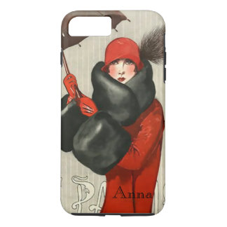 Cas parisien de l'iPhone 6 d'image de mode d'art Coque iPhone 7 Plus