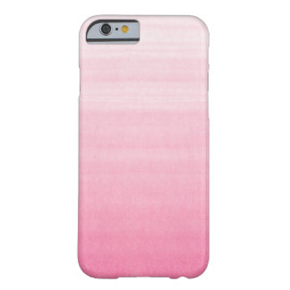 Cas personnalisable rose lumineux de l'iPhone 6 d' Coque iPhone 6 Barely There