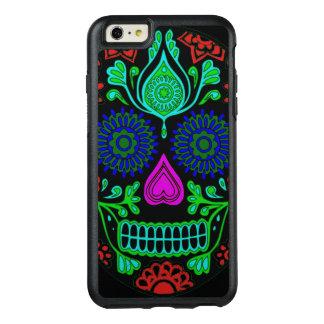 Cas plus de l'iPhone 6 colorés d'OtterBox de crâne Coque OtterBox iPhone 6 Et 6s Plus