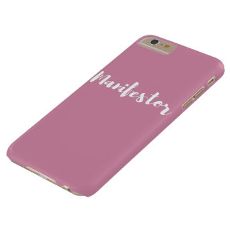 Cas plus de l'iphone 6 de Manifestor Coque iPhone 6 Plus Barely There