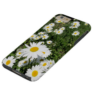 Cas plus de l'iPhone 6 de marguerites Coque iPhone 6 Plus Tough