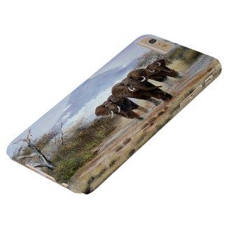 cas plus de l'iPhone 6 d'éléphant de Kilimanjaro Coque iPhone 6 Plus Barely There