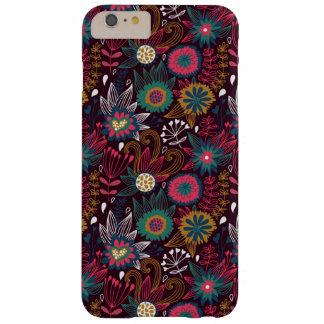 Cas plus de l'iPhone 6 floraux modernes colorés de Coque Barely There iPhone 6 Plus