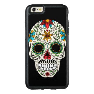 Cas plus de l'iPhone 6 morts d'OtterBox de crâne Coque OtterBox iPhone 6 Et 6s Plus