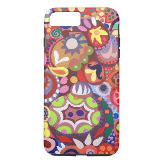 Cas plus de l'iPhone 7 abstraits colorés Coque iPhone 7 Plus