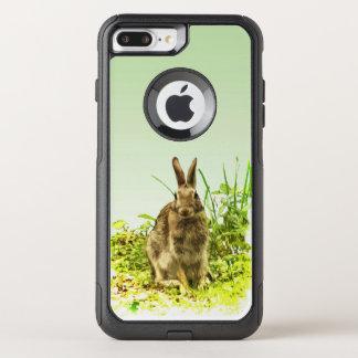 Cas plus de l'iPhone 7 d'OtterBox de lapin de Coque OtterBox Commuter iPhone 8 Plus/7 Plus