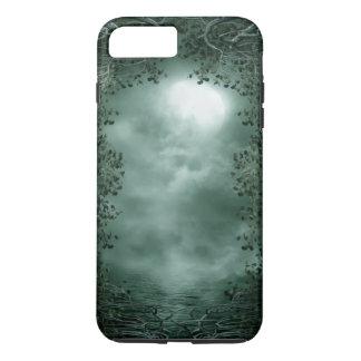 Cas plus de l'iPhone 7 durs verts mystiques de Coque iPhone 7 Plus