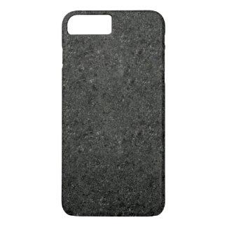 Cas plus de l'iPhone 7 enduits concrets foncés Coque iPhone 7 Plus