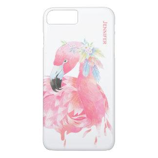 Cas plus de l'iPhone 7 faits sur commande roses Coque iPhone 7 Plus