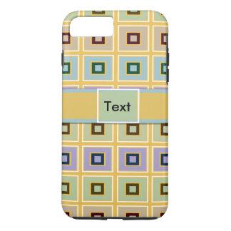 Cas plus de l'iPhone 7 géométriques de motif Coque iPhone 7 Plus