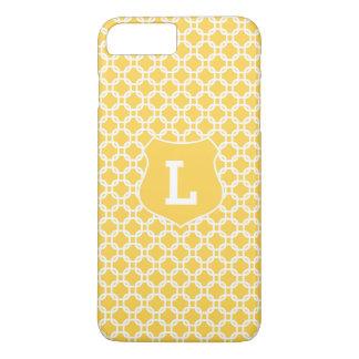 Cas plus de l'iPhone 7 marocains jaunes Coque iPhone 8 Plus/7 Plus