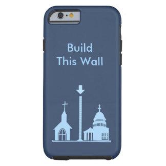 Cas politique de téléphone portable coque tough iPhone 6