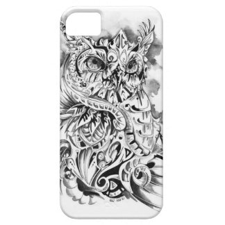 Cas psychédélique de l'iPhone 5/5s de hibou Coques Case-Mate iPhone 5