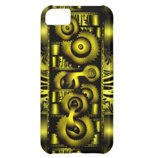 Cas punk de Coque-Compagnon d'Iphone 5 de vapeur f Coque iPhone 5C