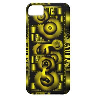 Cas punk de Coque-Compagnon d'Iphone 5 de vapeur f Coques iPhone 5 Case-Mate
