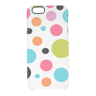 Cas rare de l'iPhone 6 de motif de point de polka Coque iPhone 6/6S