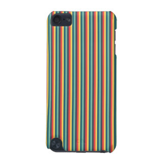 Cas rayé multicolore d'iTouch Coque iPod Touch 5G
