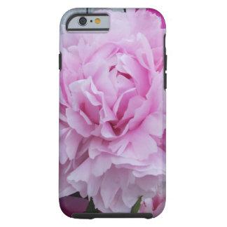 Cas rose de l'iPhone 6 de fleur de pivoines Coque iPhone 6 Tough