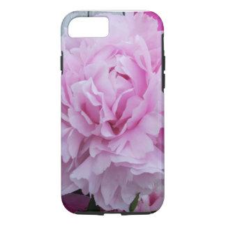 Cas rose de l'iPhone 7 de fleur de pivoines Coque iPhone 7