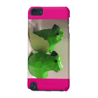 Cas rose d'oiseau coque iPod touch 5G