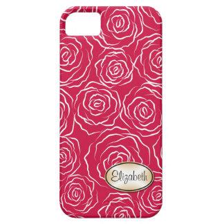 Cas stylisé de l'iPhone 5 du motif | de roseraie Coque Case-Mate iPhone 5