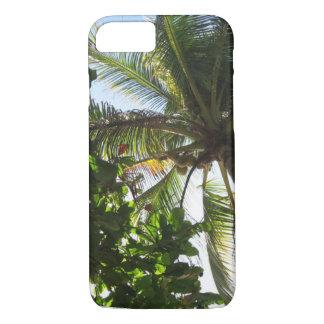 cas tropical de palmier coque iPhone 7