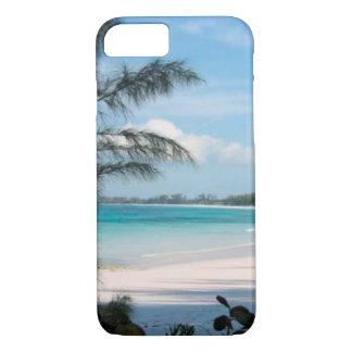 Cas tropical de palmier et de téléphone portable coque iPhone 7
