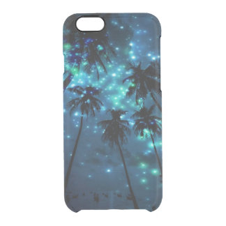 Cas tropical turquoise de l'iPhone 6/6s Clearly™ Coque iPhone 6/6S