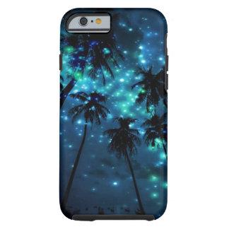 Cas tropical turquoise de l'iPhone 6/6s de paradis Coque Tough iPhone 6