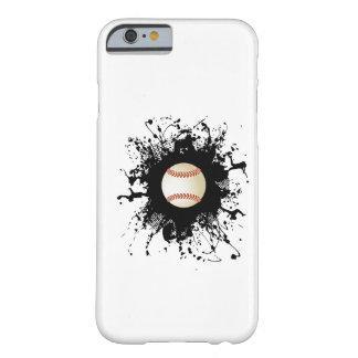 Cas urbain de l'iPhone 6 de style de base-ball Coque Barely There iPhone 6