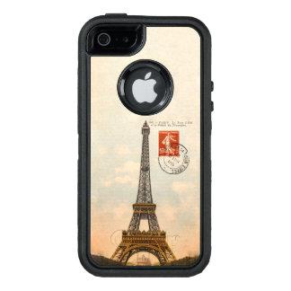 Cas vintage de l'iPhone SE/5/5s d'OtterBox de Tour Coque OtterBox iPhone 5, 5s Et SE