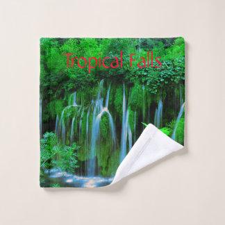 Cascade de cascade tropicale dans la forêt