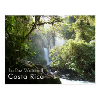 Cascade de La Paz, Blanca de Vara, carte postale