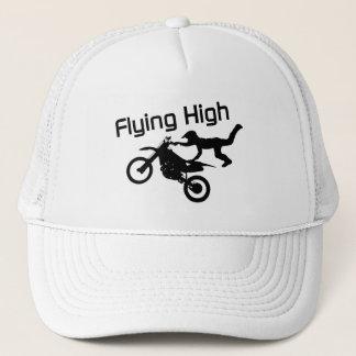 Cascade élevé volant de vélo de saleté casquette