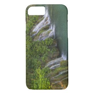 Cascade, parc national de lacs Plitvice et Coque iPhone 7