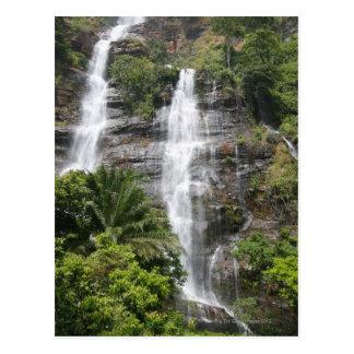 Cascades de Kpalime. Le Togo central, Afrique de Carte Postale