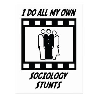 Cascades de sociologie carte postale