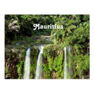 Cascades des Îles Maurice Carte Postale