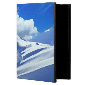 Case pour Ipad montagne sommet enneigé