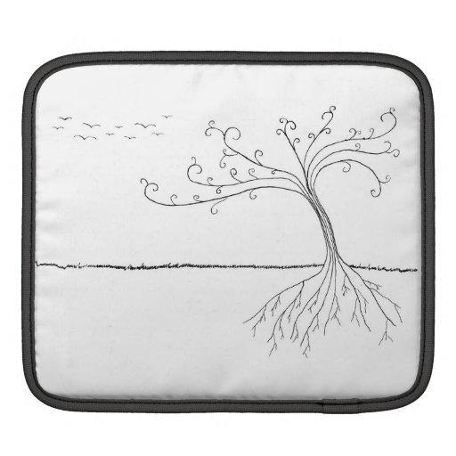 Case Tree dans le vent the Housses iPad